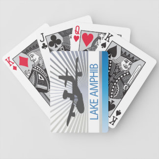 Lake Amphib Aviation Bicycle Playing Cards