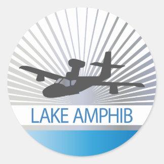 Lake Amphib Aviation Classic Round Sticker