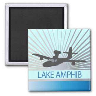 Lake Amphib Aviation Magnet