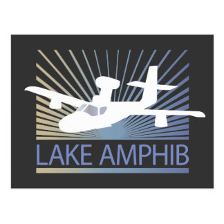 Lake Amphib Aviation Postcard