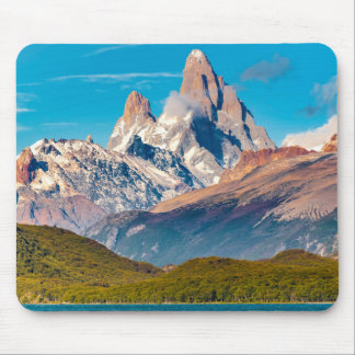 Lake and Andes Mountains, Patagonia - Argentina Mouse Pad
