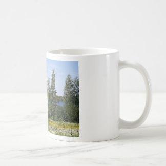 Lake and Fence Coffee Mug