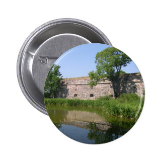 Lake And Fortifications On Suomenlinna In Helsinki Pin