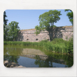 Lake And Fortifications On Suomenlinna In Helsinki Mouse Pad