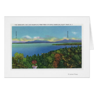 Lake and Green Mountains Card