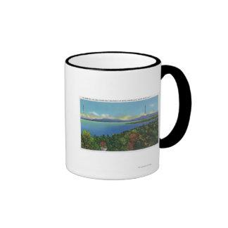 Lake and Green Mountains Ringer Mug