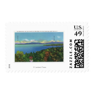 Lake and Green Mountains Stamp