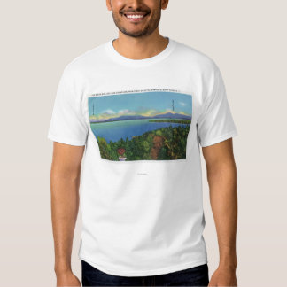 Lake and Green Mountains T Shirt