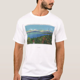 Lake and Green Mountains T-Shirt