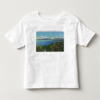 Lake and Green Mountains Toddler T-shirt