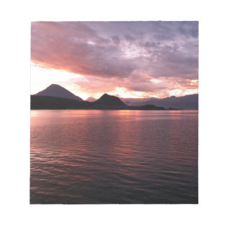Lake and sunset notepads
