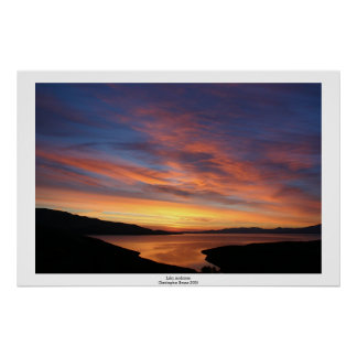 Lake Anderson Sunrise Poster