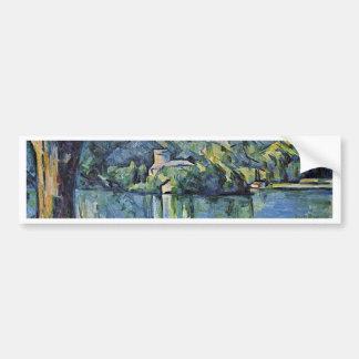 Lake Annecy By Paul Cézanne (Best Quality) Car Bumper Sticker