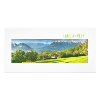 Lake Annecy Photocard Card
