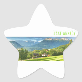 Lake Annecy Stickers (star)