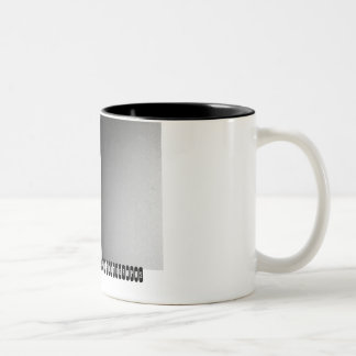 lake arkansas bar & grille Two-Tone coffee mug