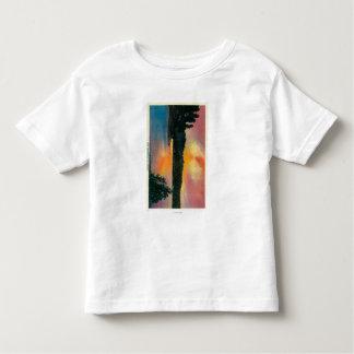 Lake Arrowhead at SunsetLake Arrowhead, CA Toddler T-shirt