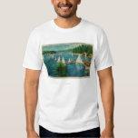 Lake Arrowhead, CA Yacht Club Racing T-Shirt