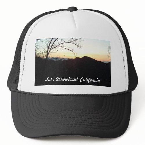 Lake Arrowhead, California Cap Designed by Julia H hat