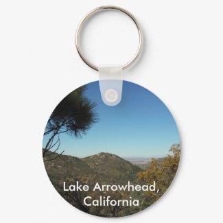 Lake Arrowhead, California-Key Chaing keychain