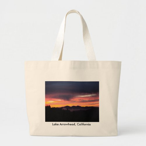 Lake Arrowhead, California Tote Bag bag