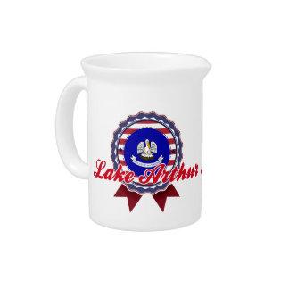 Lake Arthur, LA Beverage Pitcher
