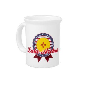 Lake Arthur, NM Drink Pitcher