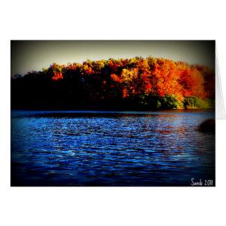 Lake at Glade Creek Card