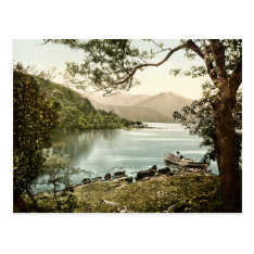 Lake At Innisfallen Killarney Ireland Postcard at Zazzle