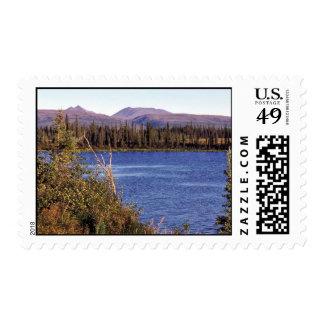 Lake at Junction of Selawik River and Ingruksuk Ri Stamps