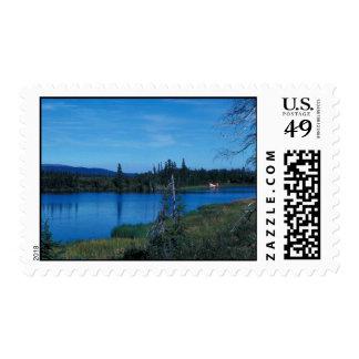 Lake at Junction of Selawik River and Ingruksuk Ri Postage Stamps