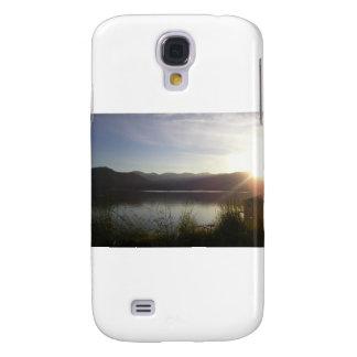 lake at sunset samsung galaxy s4 case