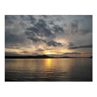 Lake at Sunset Post Cards