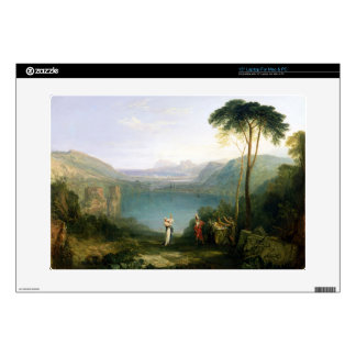 Lake Avernus: Aeneas and the Cumaean Sibyl, c.1814 Decal For Laptop