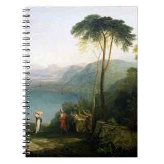 Lake Avernus: Aeneas and the Cumaean Sibyl, c.1814 Journals