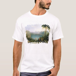 Lake Avernus: Aeneas and the Cumaean Sibyl, c.1814 T-Shirt