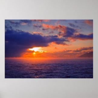 Lake Baikal - Another Sunset Poster