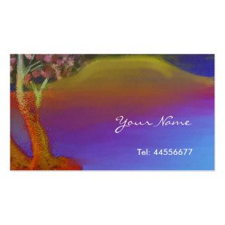Lake Balaton by night Business Card Template