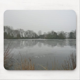Lake Bank at Sudbury Hall Mouse Pad