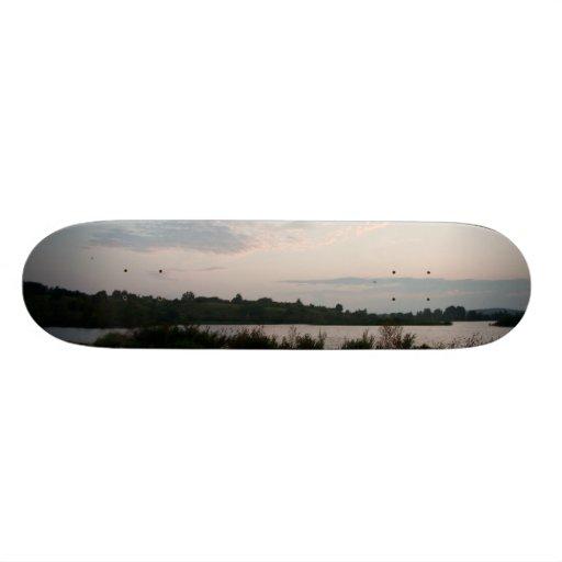 Lake before dawn skateboard decks
