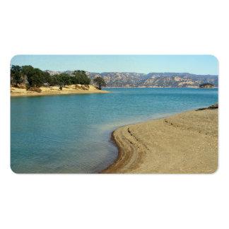 Lake Berryessa Business Card Templates