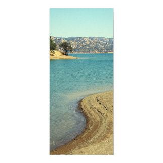 Lake Berryessa 4x9.25 Paper Invitation Card