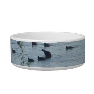Lake Birds Pet Bowl