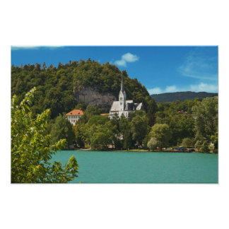 Lake Bled in Slovenia Poster