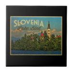 Lake Bled Slovenia Ceramic Tile