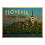 Lake Bled Slovenia Posters