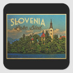 Lake Bled Slovenia Stickers