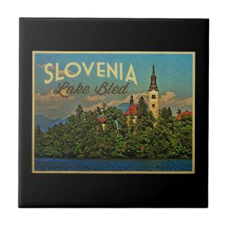 Lake Bled Slovenia Tile