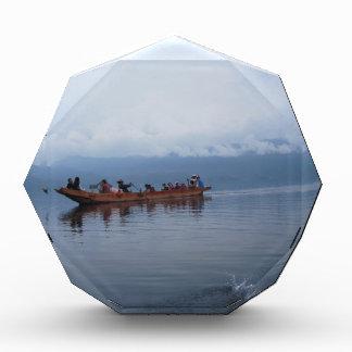 lake boat acrylic award