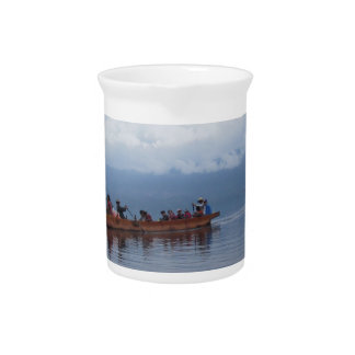 lake boat beverage pitcher
